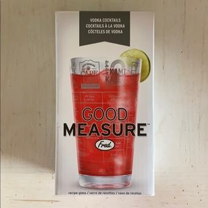 Good Measure glass mixer
